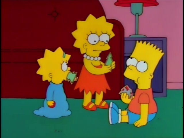 Christmas Trees for the Girls and Bloody Spearheads for Bart Cookies Screenshot