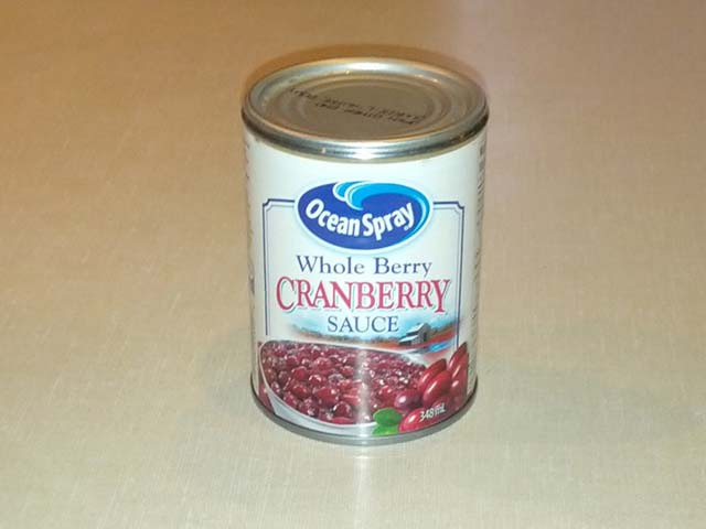 Cranberry Sauce a la Bart Ingredients