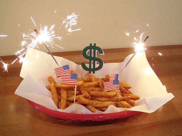 Million Dollar Birthday Fries