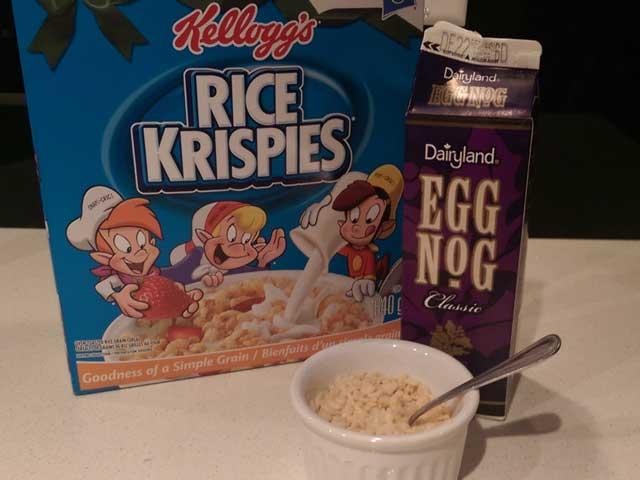 Eggnog-On-Cereal