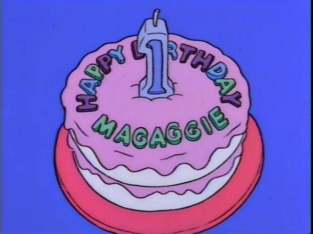 Happy Birthday Magaggie Cake Screenshot