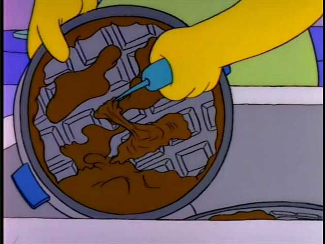 Homers-Patented-Space-Age-Out-of-This-World-Moon-Waffles-Cleanup-Screenshot
