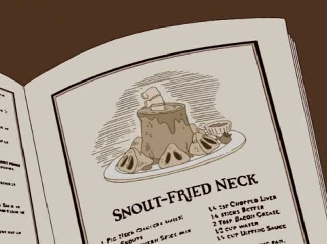 Snout-Fried Neck