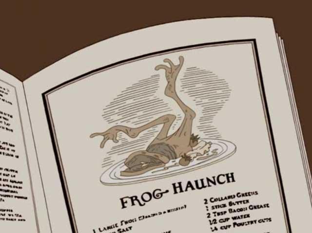 Frog-Haunch