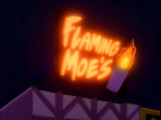 Flaming Moe's Screenshot